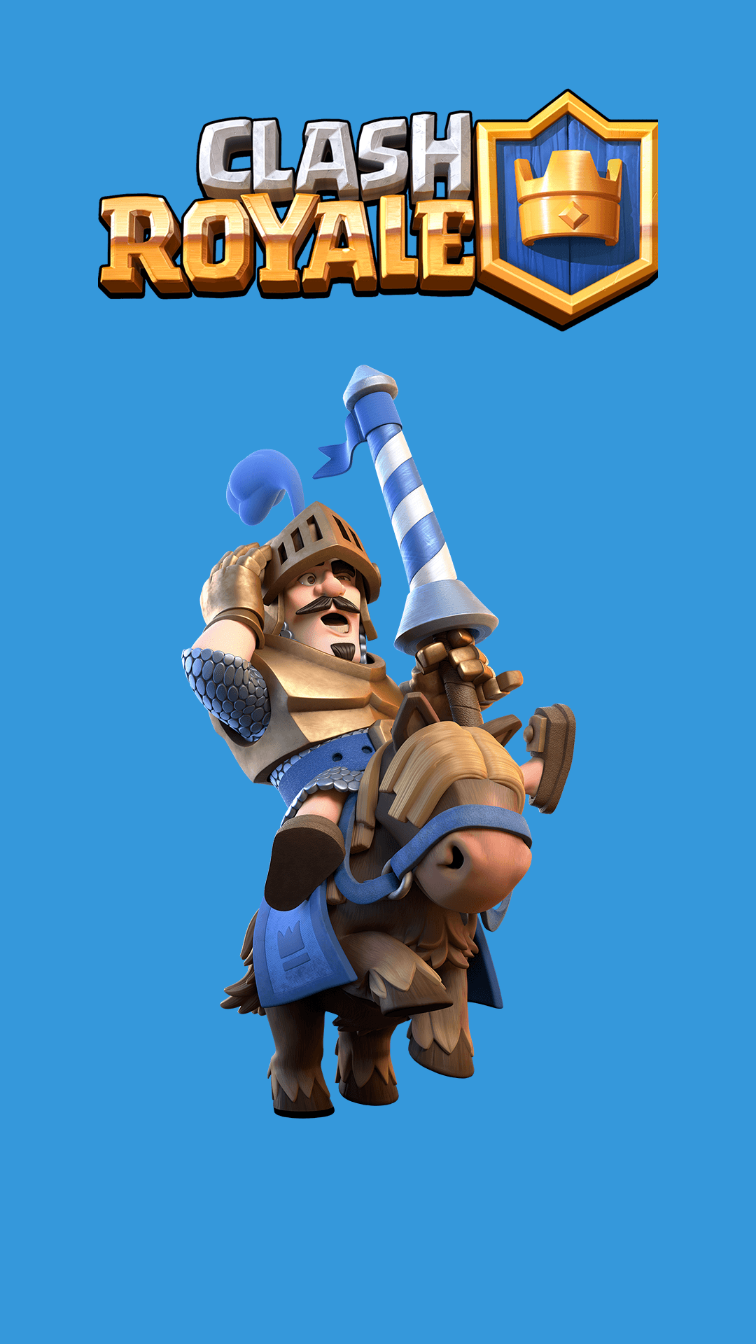 The Blue Prince Clash Royale Games iPhone Wallpaper – Wallpapers …
