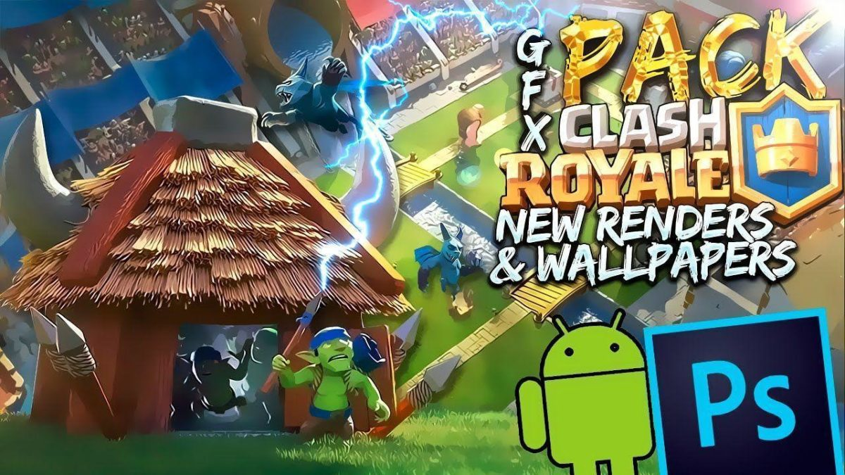 PACK Clash Royale – New Renders & Wallpapers – YouTube