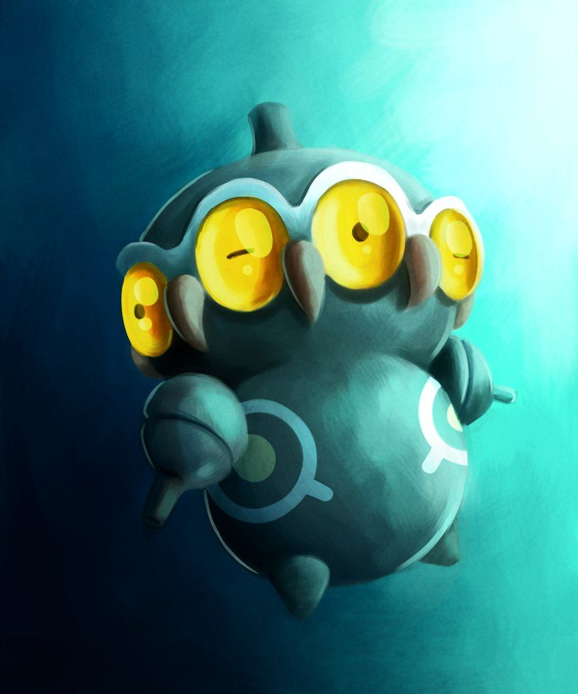 Shiny Claydol by Eksploud on DeviantArt