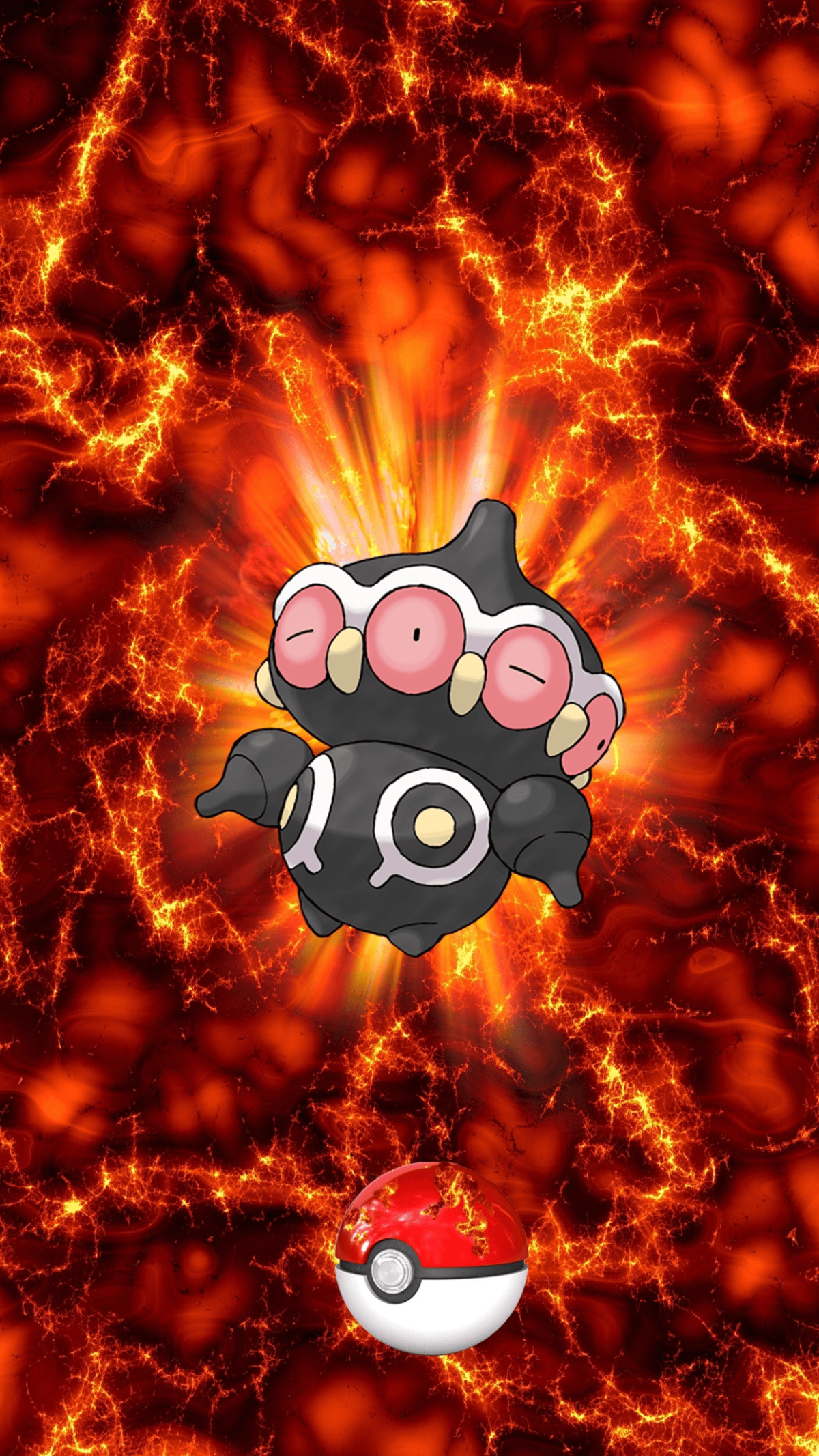 344 Fire Pokeball Claydol Unknown Baltoy | Wallpaper