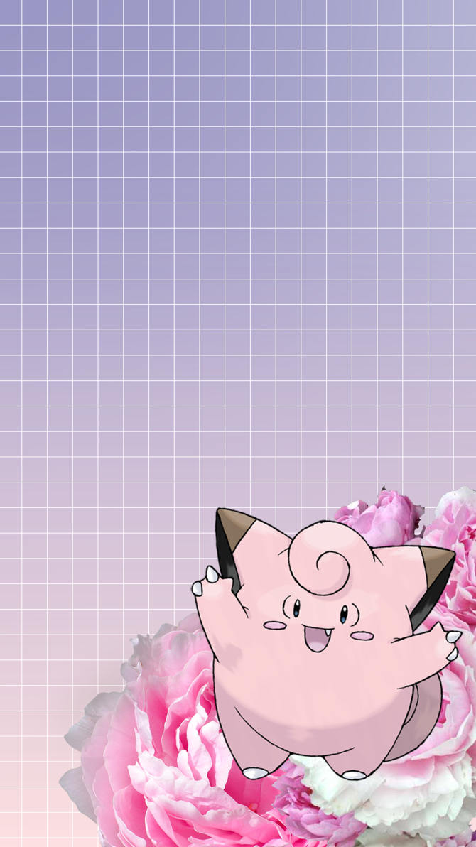 Clefairy iPhone 6 Wallpaper by JollytheDitto on DeviantArt