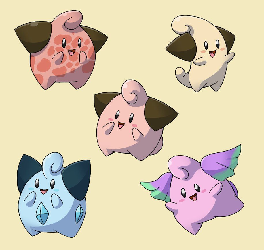 PokemonSubspecies: Cleffa by CoolPikachu29 on DeviantArt