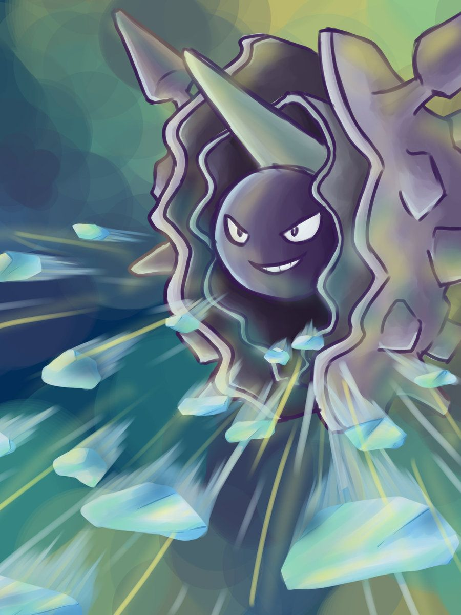 Cloyster used Ice Shard by SabrieI on DeviantArt