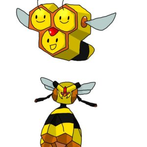 download Combee and Vespiquen by Hello-MrKnife on DeviantArt
