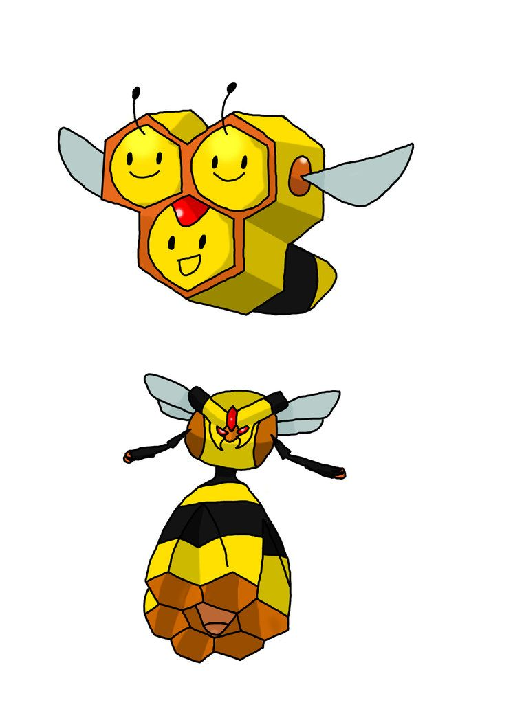 Combee and Vespiquen by Hello-MrKnife on DeviantArt