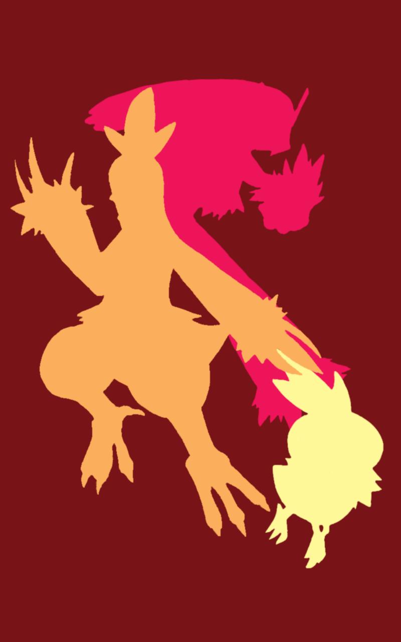 Hoenn Fire (Phone Wallpaper) by stabilow on DeviantArt
