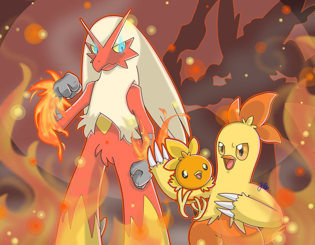 SpeedArt] Pokemon: Torchic, Combusken, Blaziken by JaidenAnimations …