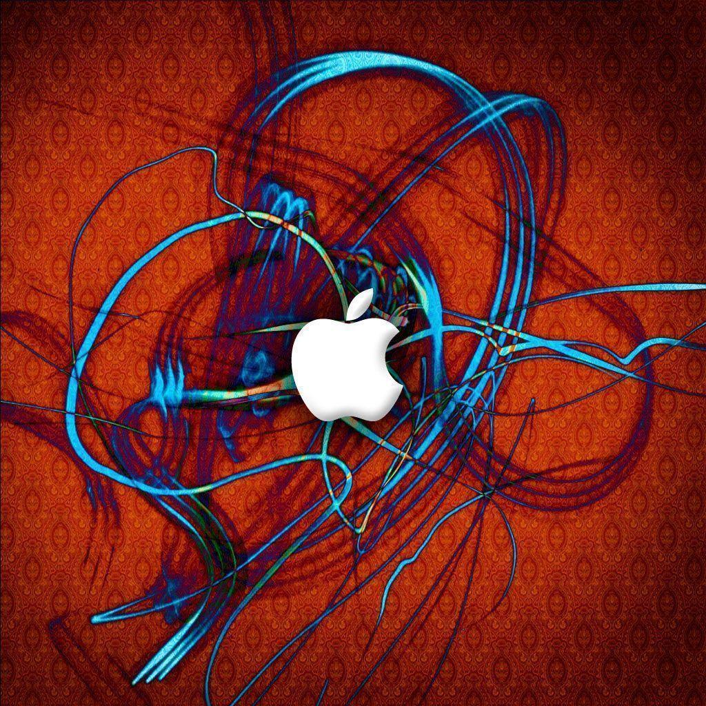 Red apple logo wallpaper | Wallpaper Wide HD