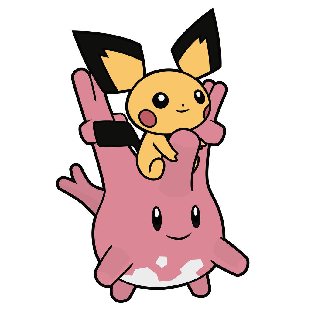 Corsola and Pichu by Elenwae on DeviantArt