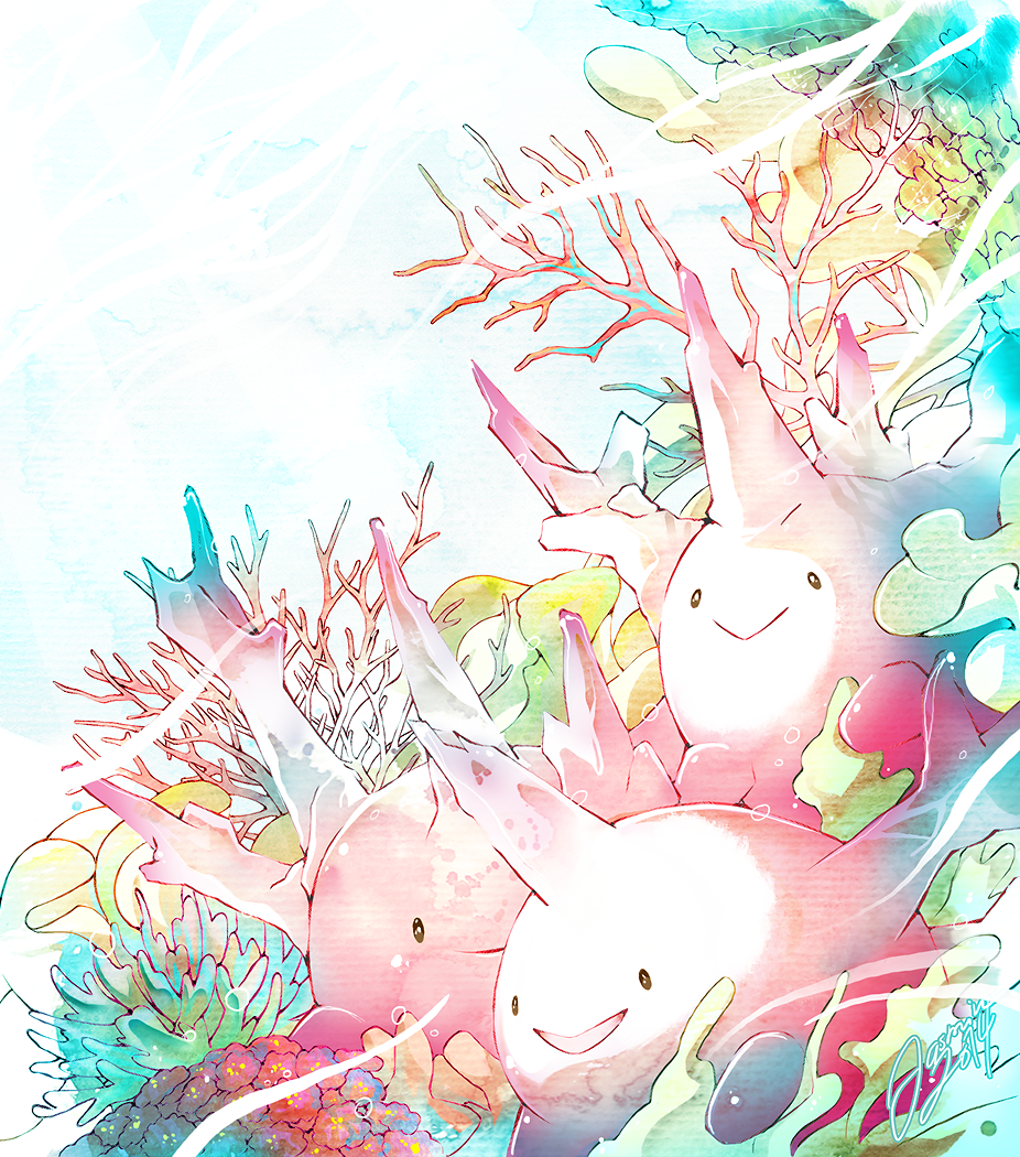 Corsola by jaslikeschocolate.deviantart.com on @deviantART | Pokemon …