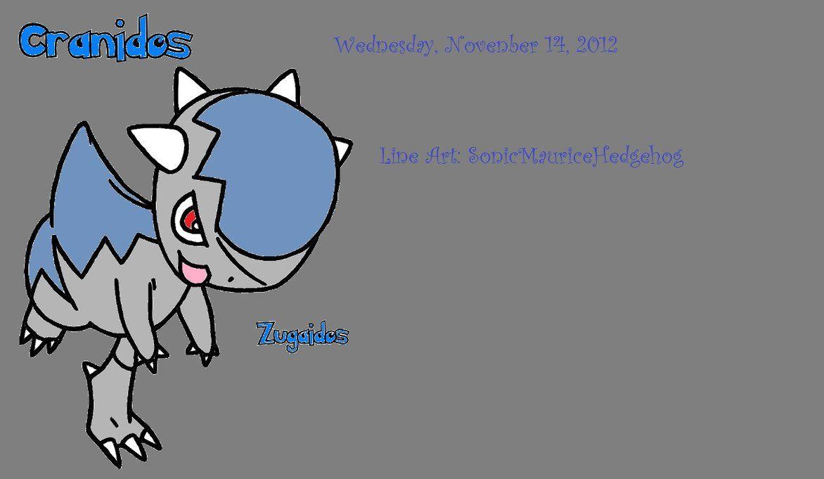 Pokemon Cranidos by SonicMauriceHedgehog on DeviantArt