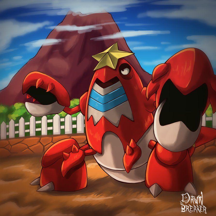 Pokemon #342 – Crawdaunt by DawnbreakerDESIGNS on DeviantArt
