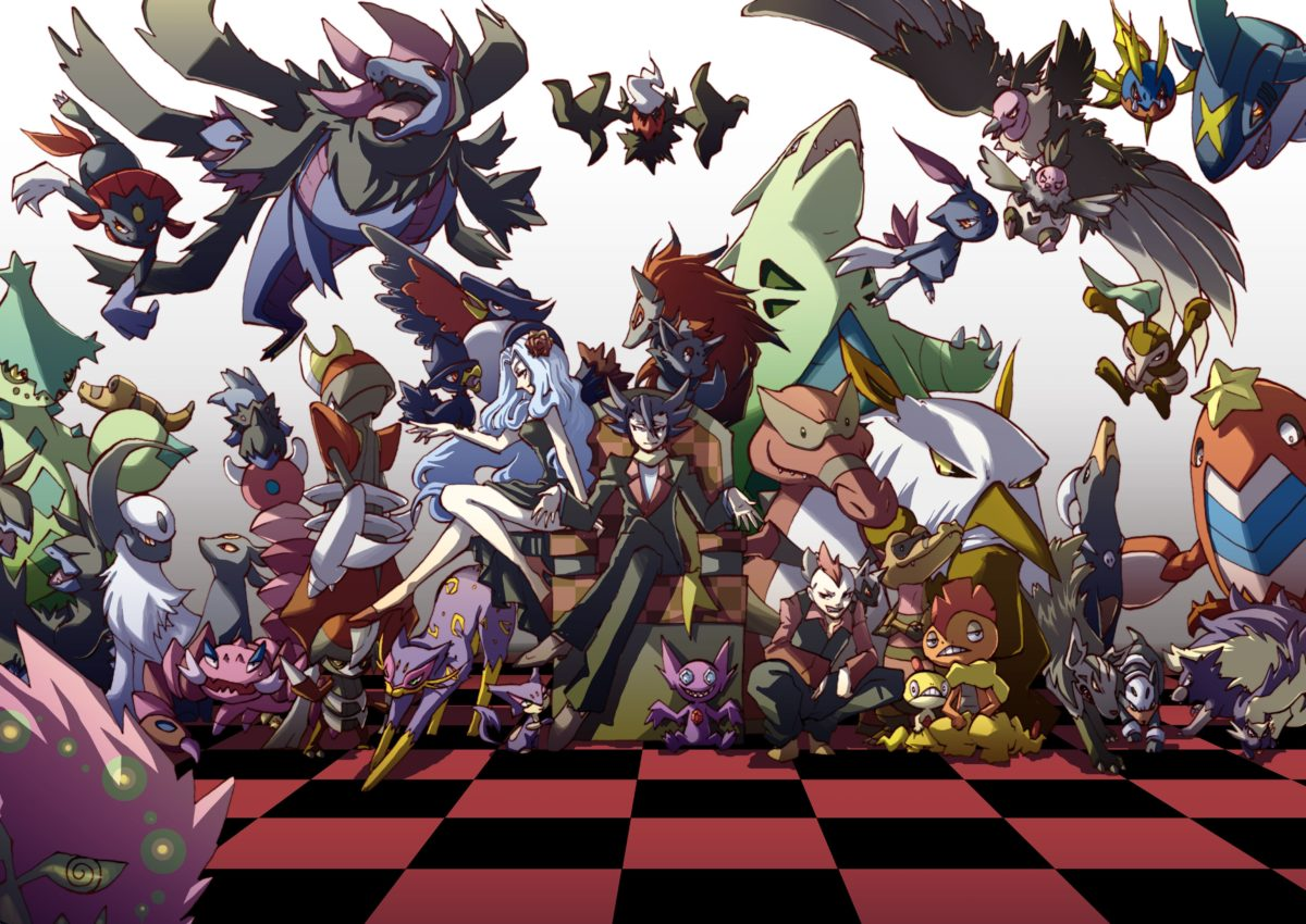 absol, bisharp, cacturne, carvanha, crawdaunt, and others (pokemon …