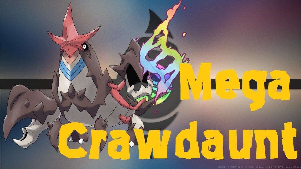Mega Crawdaunt | Pokemon Omega Ruby and Alpha Sapphire (Fan Art …