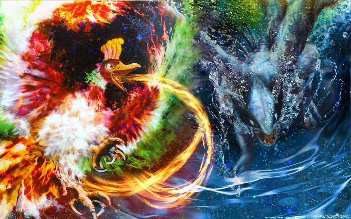 29 Ho-oh (Pokémon) HD Wallpapers   Background Images – Wallpaper Abyss