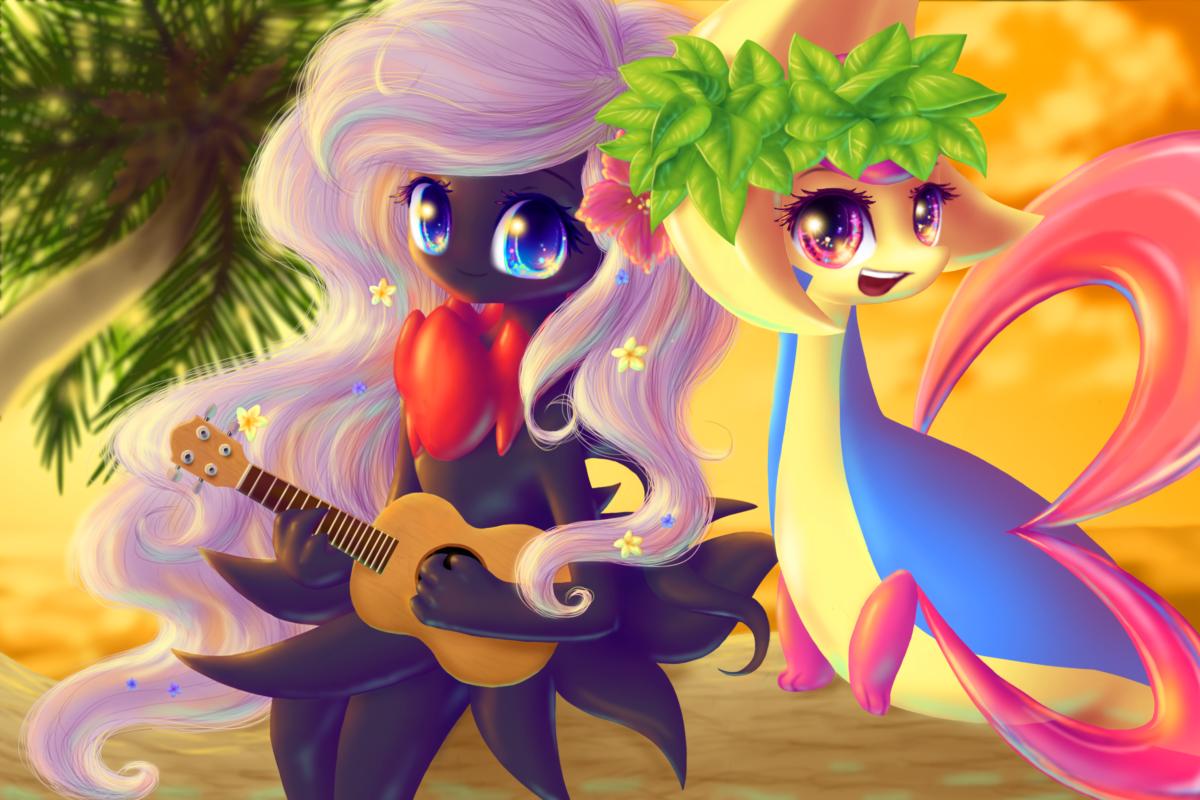 Cresselia and Darkrai by Queen-KittyKat on DeviantArt