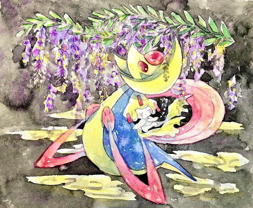 Cresselia & Jirachi   Pokémon   Know Your Meme
