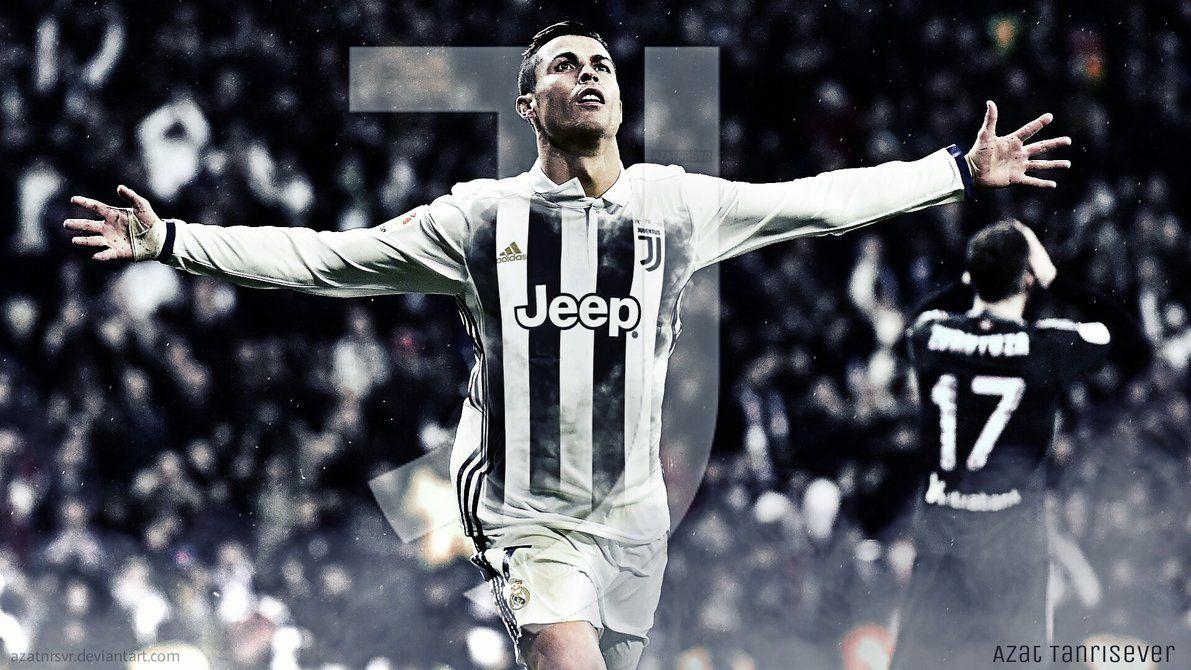 Cristiano Ronaldo Juventus- Wallpaper by Azatnrsvr on DeviantArt