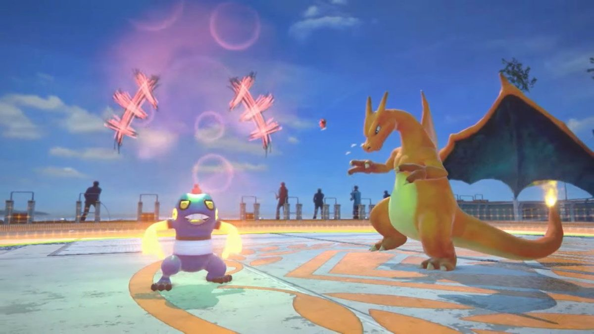 Croagunk joins Pokken Tournament 4 out of 6 image gallery
