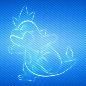 download Pokemon video games multicolor manga croconaw wallpaper | (36552)