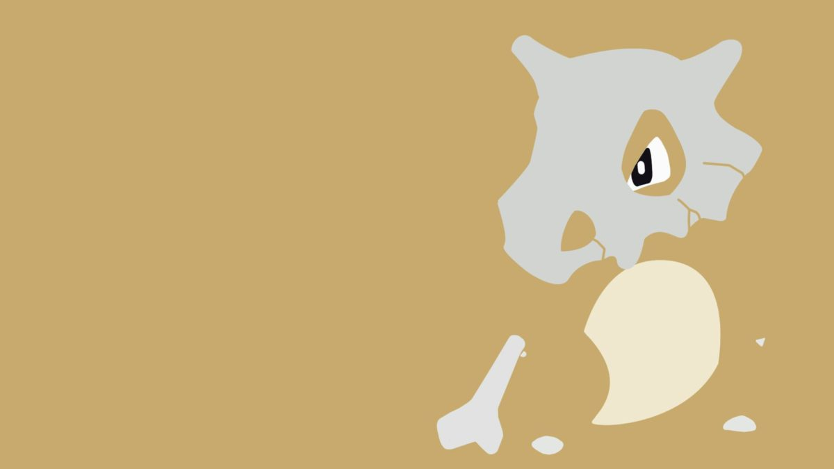 Cubone Desktop Wallpaper | PixelsTalk.Net