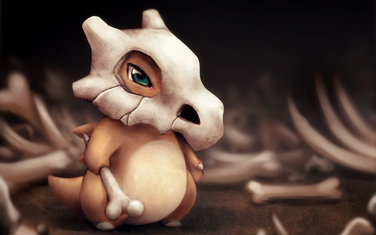 Download 1920×1200 HD Pokemon Cubone Wallpaper