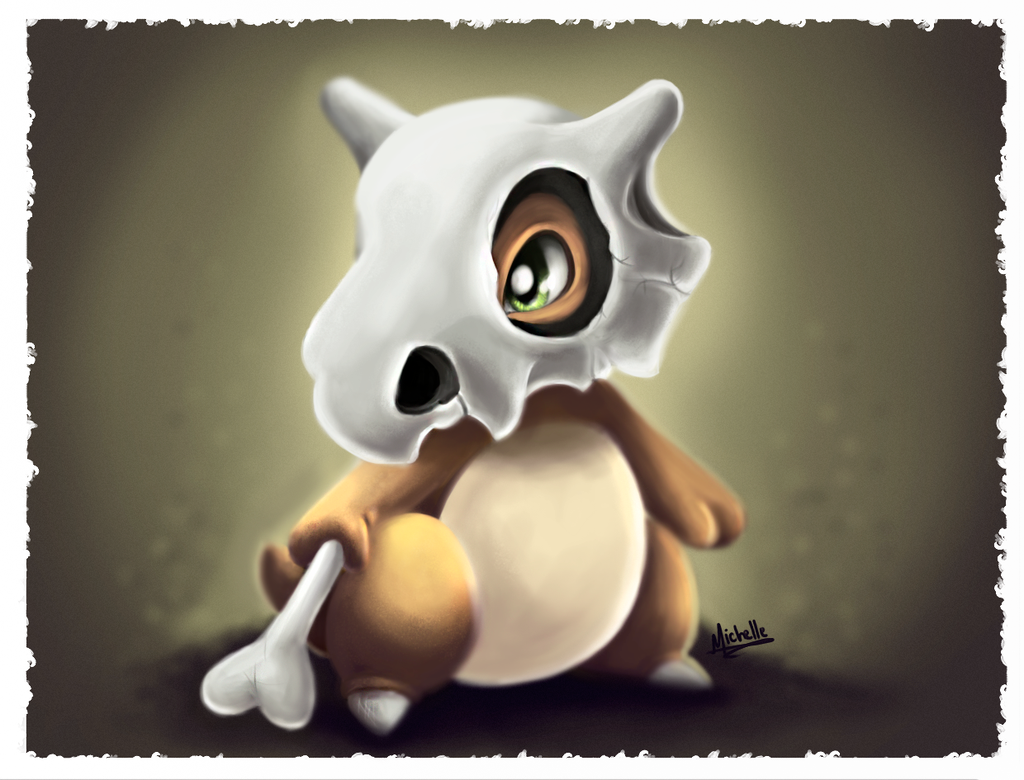 Cubone by michelle-miranda on DeviantArt