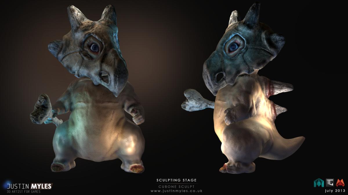 Pokemon's Cubone Gets A New Look. by JustinTheEnd on DeviantArt