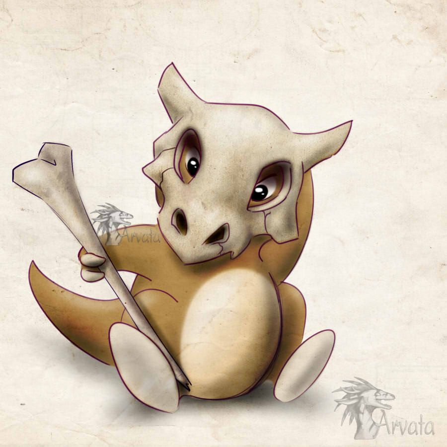 Cubone by Arvata on DeviantArt