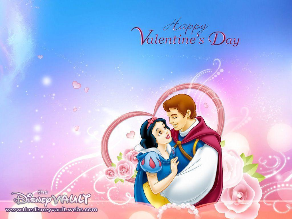 Snow White Valentine's Day Wallpaper – Disney Wallpaper (7904831 …