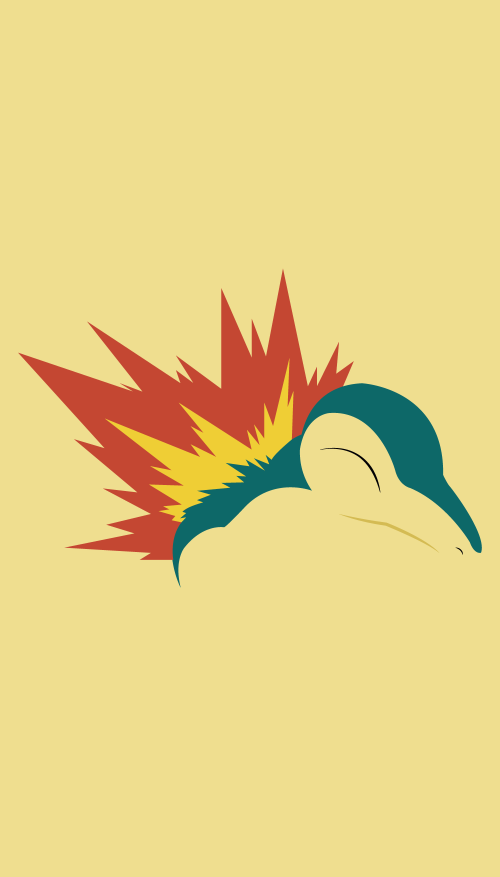 Pokemon Wallpaper Cyndaquil | Society Six | Pinterest | Pokémon …