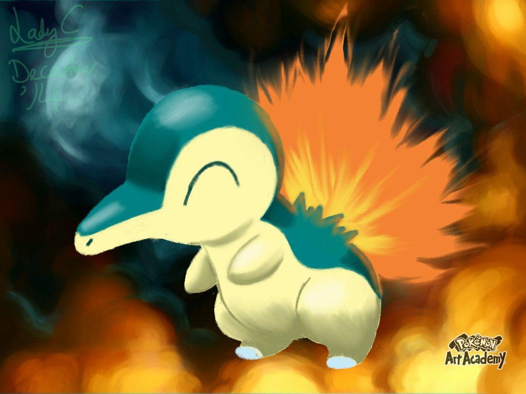 Pokemon Art Academy – Cyndaquil by LadyCharizard on DeviantArt