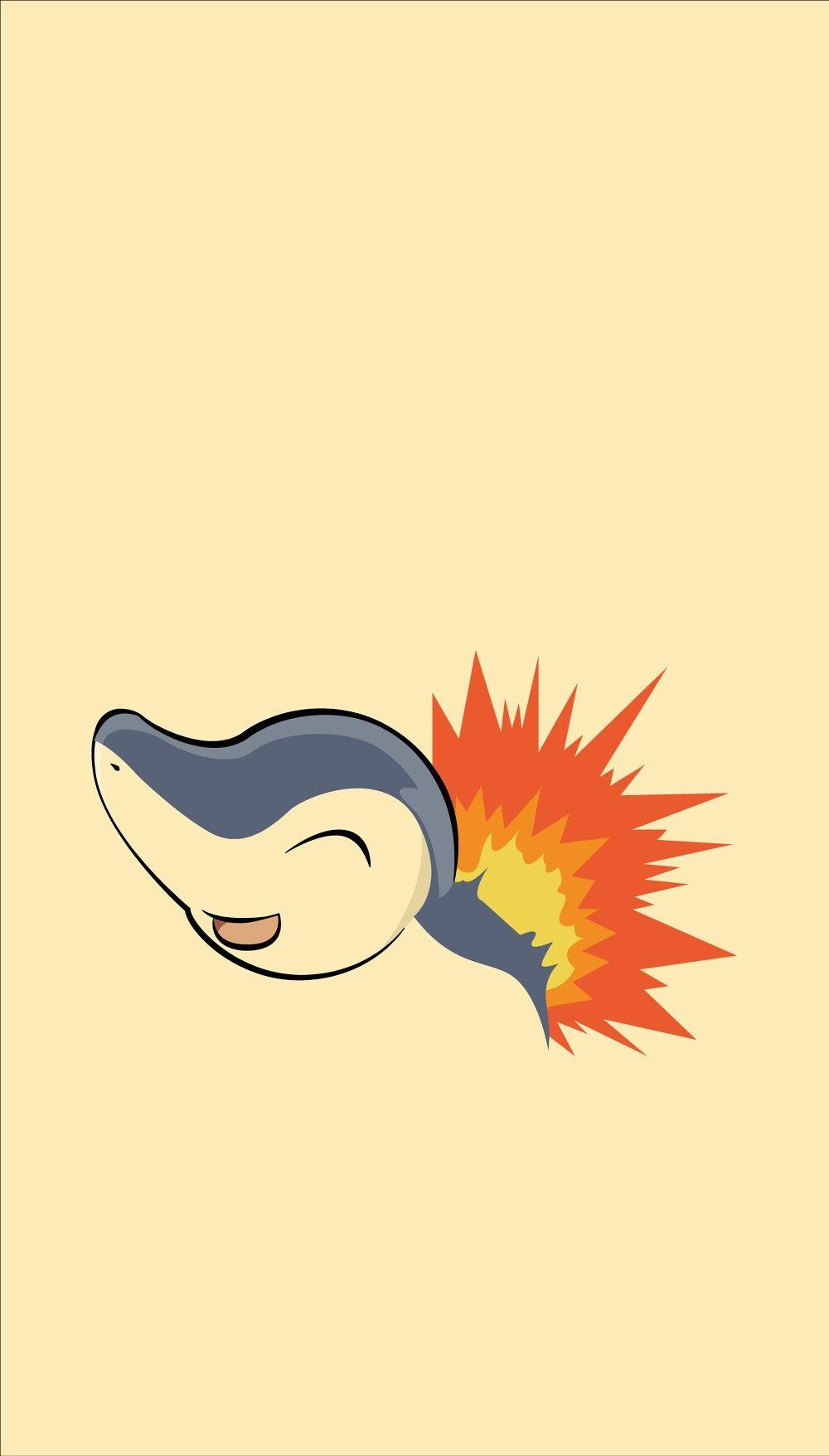 Cyndaquil wallpaper ❤   Pokémon (ノ◕ヮ◕)ノ*:・゚✧   Pinterest …