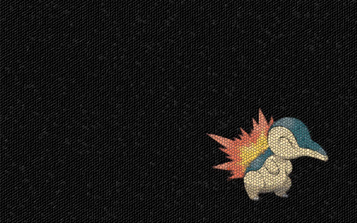 pokemon mosaic cyndaquil 1920×1200 wallpaper High Quality …