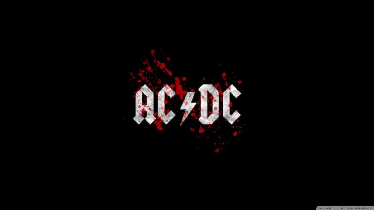 AC/DC Blood Logo HD desktop wallpaper : Widescreen : Fullscreen …