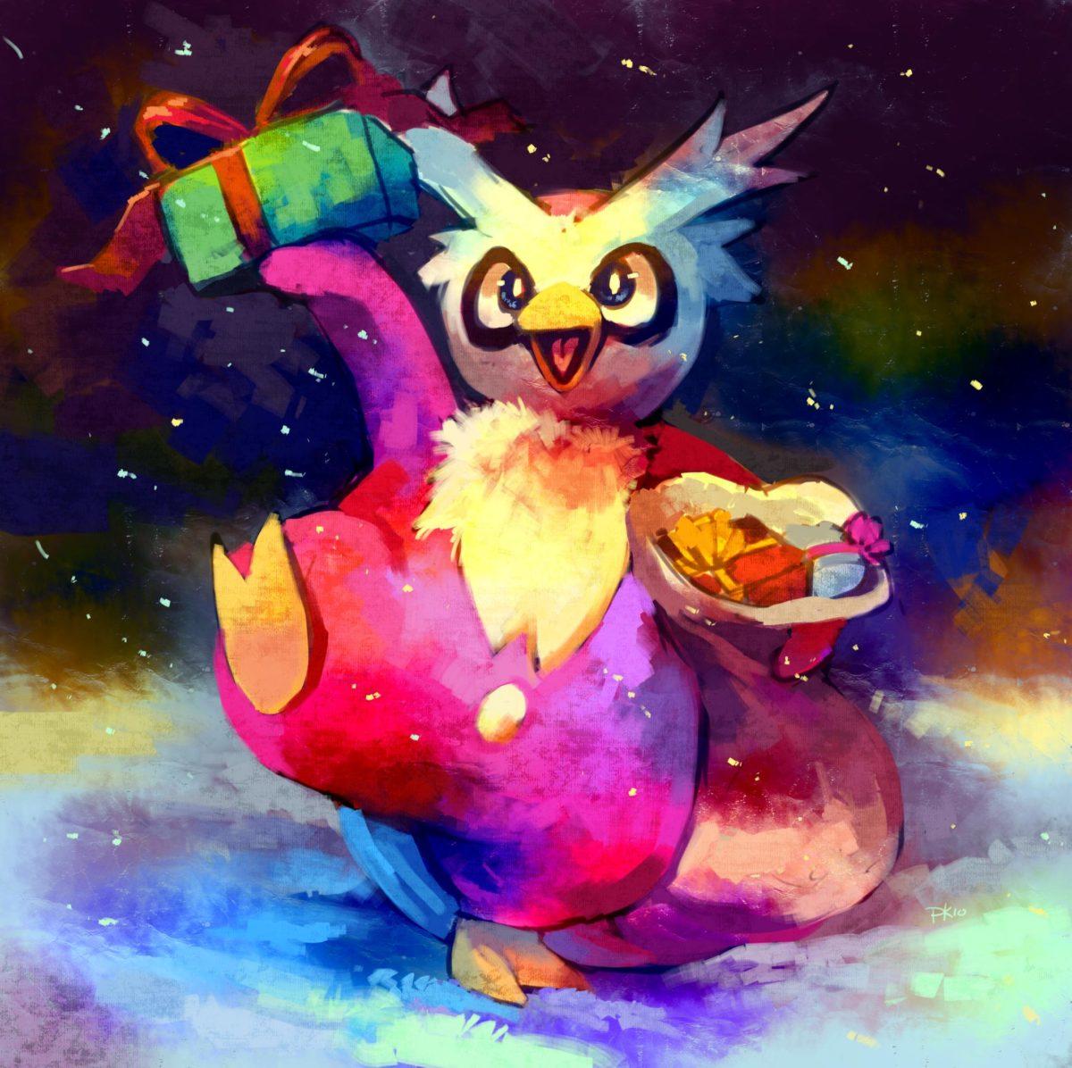 Delibird | Type glace | Pinterest | Pokémon, Pokemon stuff and Nintendo