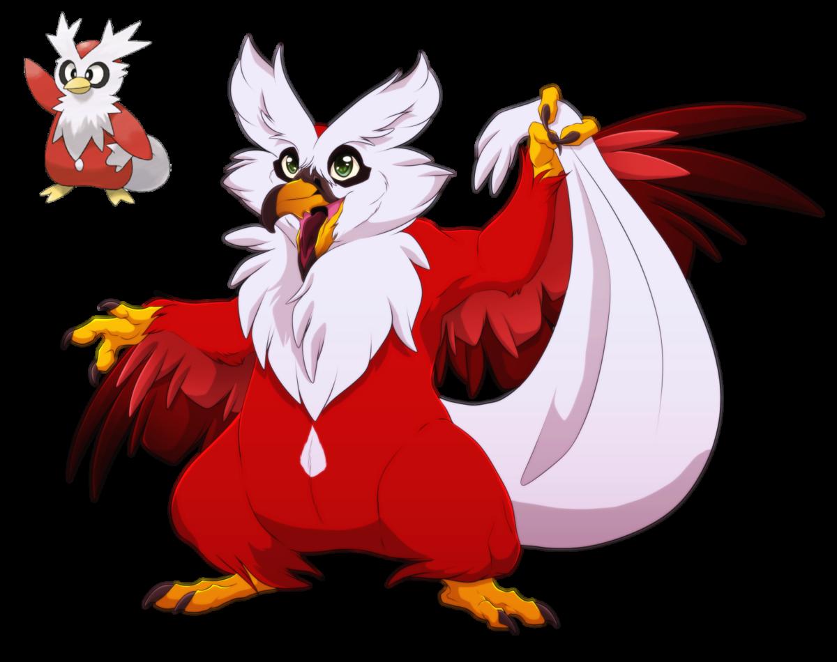 Delibird- The Gift giving Avian by blueharuka on DeviantArt