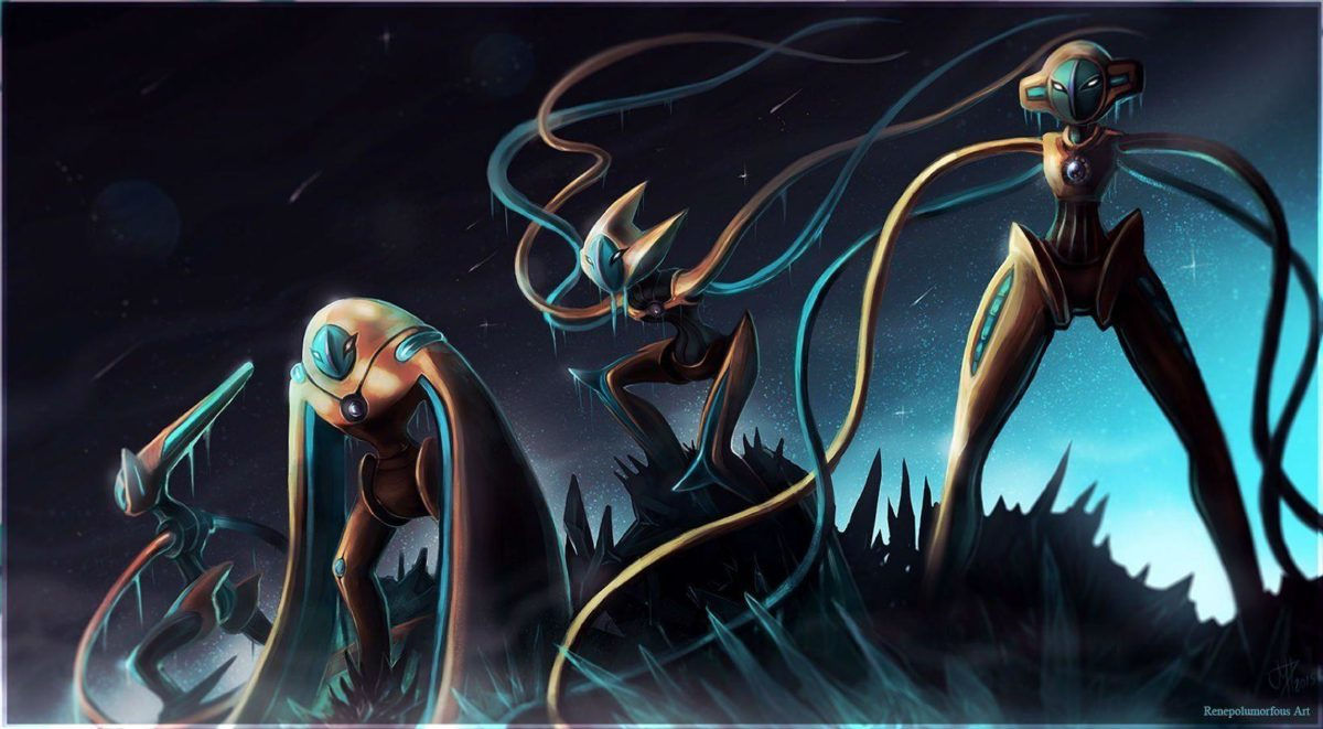 20 Deoxys (Pokemon) HD Wallpapers | Background Images – Wallpaper Abyss