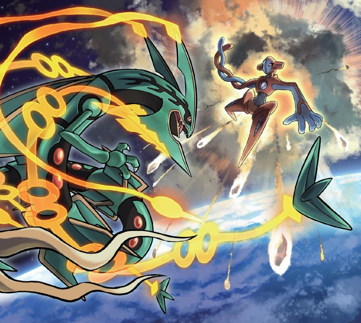 Rayquaza vs Deoxys wallpaper by JohnnyAmezcua • ZEDGE™