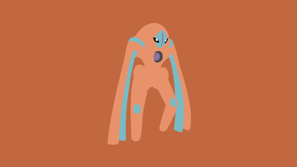 Minimalistic Wallpaper: Deoxys [Defense] (#386.2) by MardGeerT on …