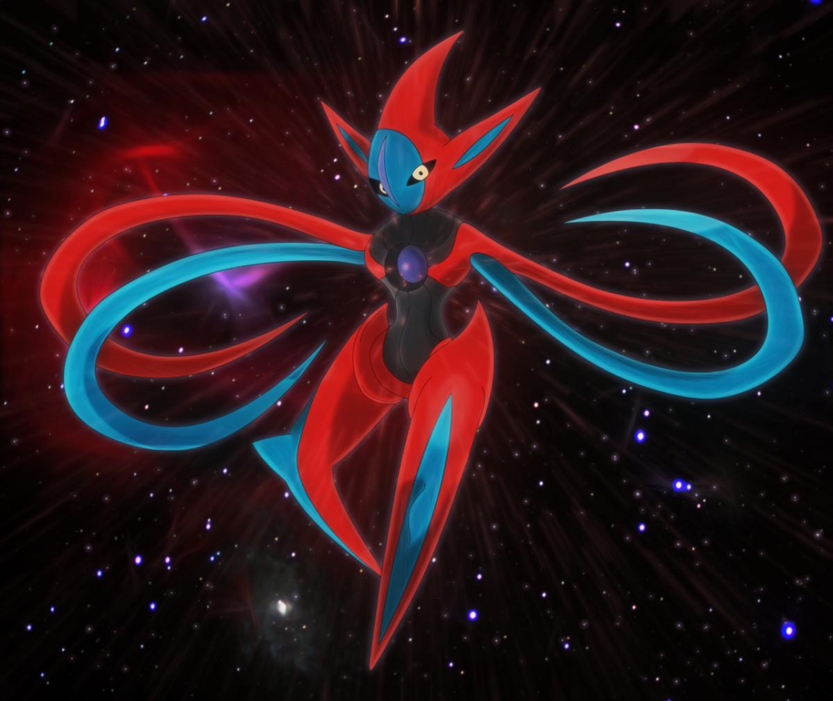 cosmic virus, deoxys by Elsdrake on DeviantArt