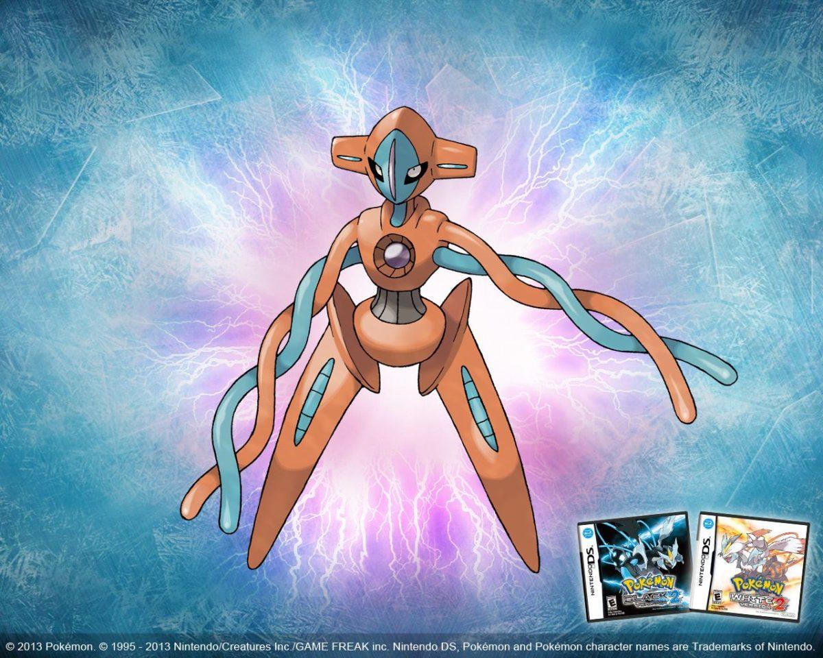 Deoxys Pokémon Black Version 2 and Pokémon White Version 2-themed …