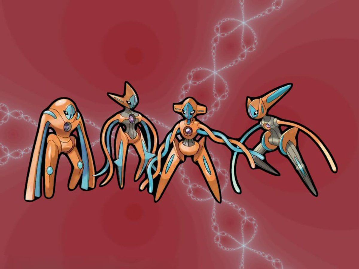 Cute Baby HD Wallpaper: Deoxys Pokemon Wallpapers
