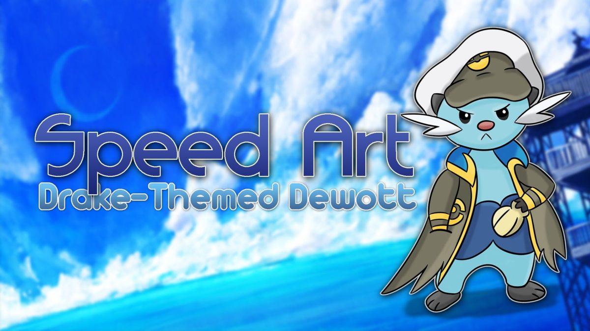 Elite Four Drake Dewott   Speed Art – YouTube