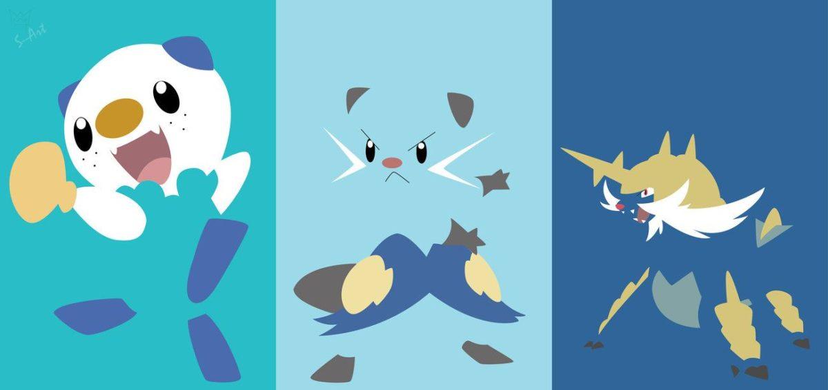 Oshawott Evolution Wallpaper.