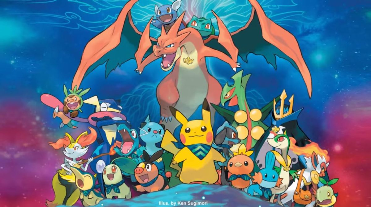 Pokemon Super Mystery Dungeon art by Ken Sugimori. I think this is …