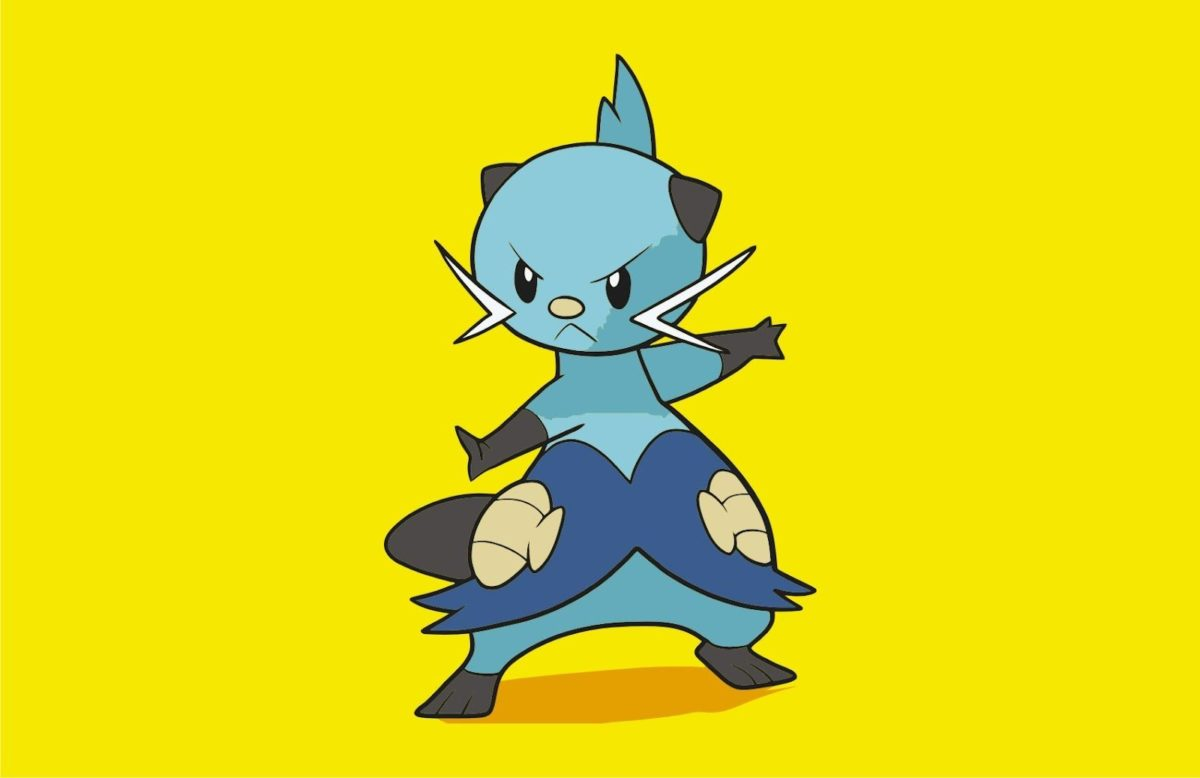 Pokemon Dewott   Vector Game