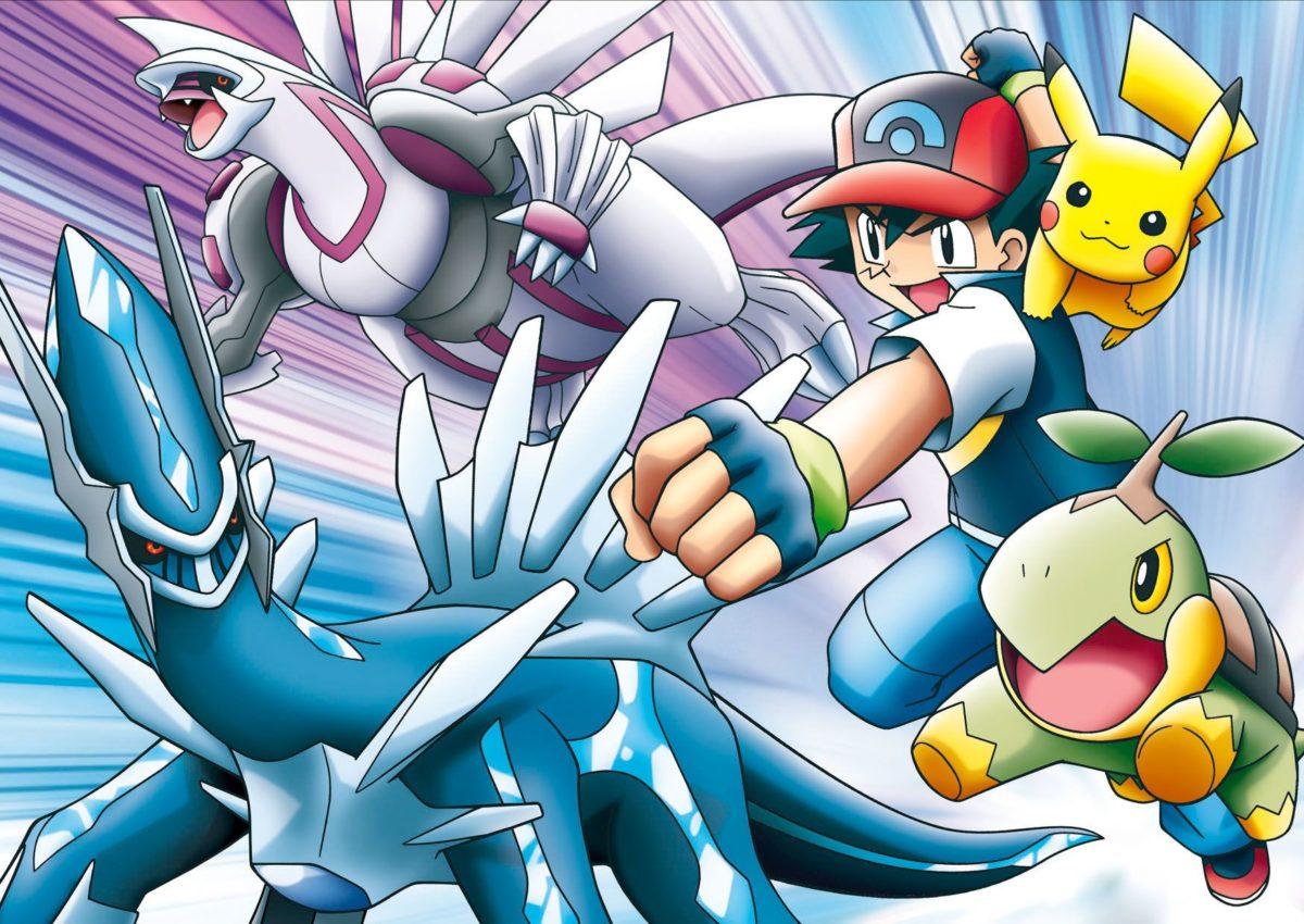 Dialga, Palkia, Ash! All my favorites in 1 movie! | Pokemon Pics …