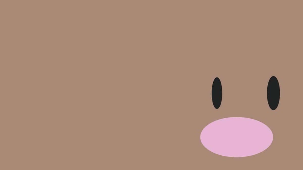 Diglett Pokmon Minimalist Video Game Pokemon HD Wallpaper, Desktop …