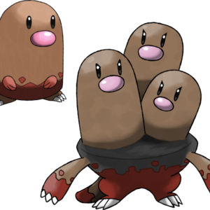 download Diglett and Dugtrio (Surface Forms) by Marix20 on DeviantArt